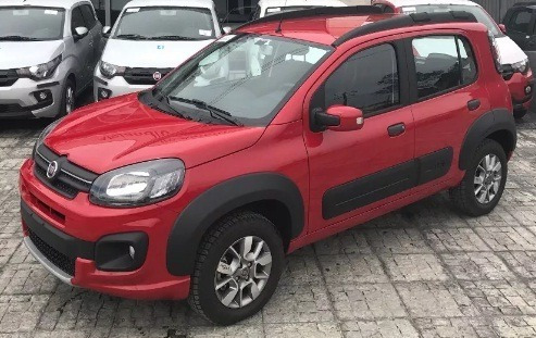 Plan Uber Fiat Uno Way 0km Anticipo De $45.000 Y R-