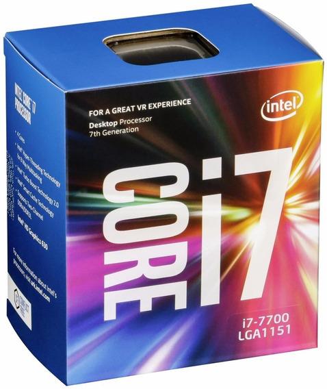 Processador Intel Core I7 7700 4,20 Ghz 8mb Cache Lga 1151