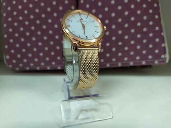 Relógio Feminino De Pulso Dourado