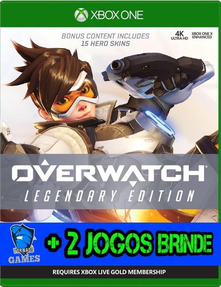 Overwatch Legendary Edition - X Box One - Midia Digital