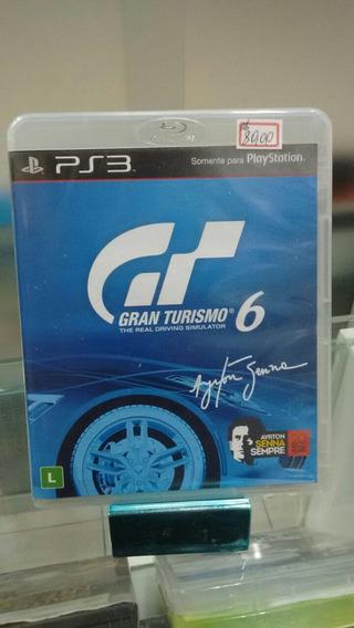 Jogo Gran Turismo 6 Play 3 Ps3
