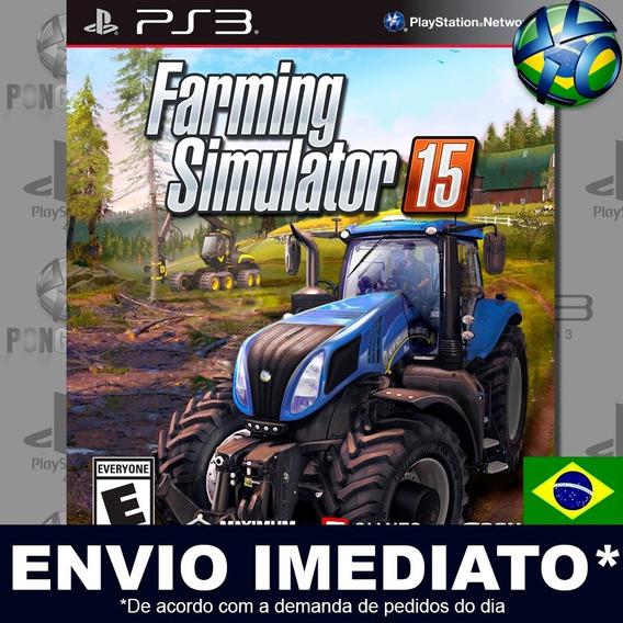 Farming Simulator 15 Ps3 Digital Psn Legendado Português Pt Br Jogo Em Promoção