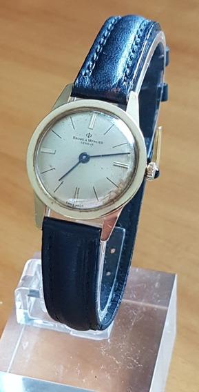 Relógio Baume & Mercier Feminino A Corda Em Ouro 18k