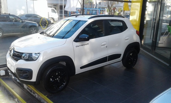Renault Kwid 1.0 Outsider Patentado 2020 Credt Tasa 0% (ap)