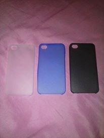 Capa Case 0.3mm Ultra Fino Fosca Para iPhone 4 4s