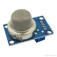 Sensor De Gás Mq-135 Mq135 Amônia Ó. Nítrico Álcool Arduino