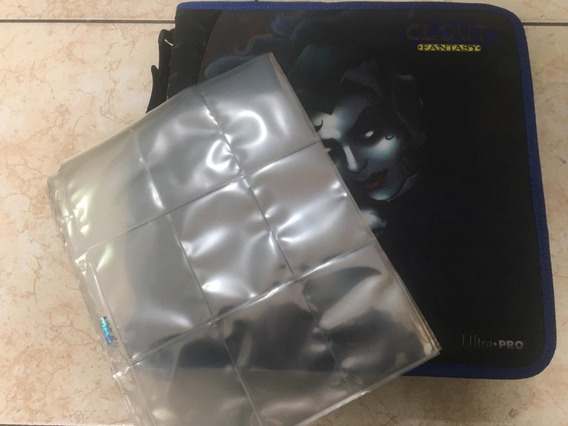 30 Folhas Furo Universal 9 Pocket + Fantasy Zippered Album