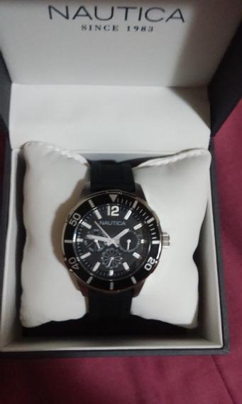 Relógio Náutica Modelo N14654m Original E Novo