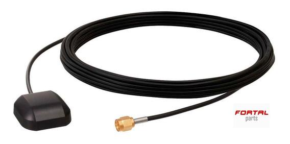 Antena Gps Universal Conector Sma 3m Carro Caminhão Moto Multimidia
