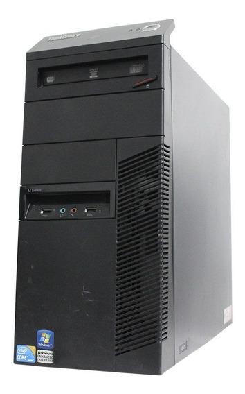 Computador Desktop Lenovo Thinkcenter M90 I3 4gb 240ssd