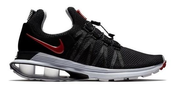 Zapatillas Nike Shox Gravity Negra C/ Suela Gris