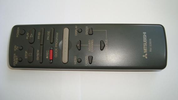 Controle Remoto Vídeo Cassete Mitsubishi Hs - X98 - Rm 53906