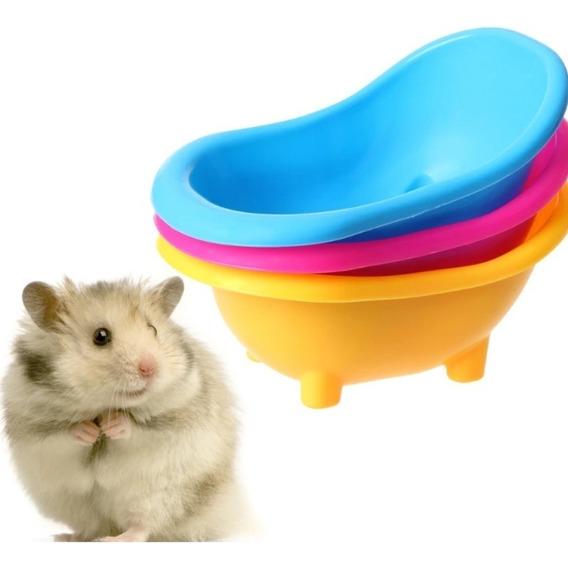 Banheira Banho Mini Hamster Roedores Porco Da India