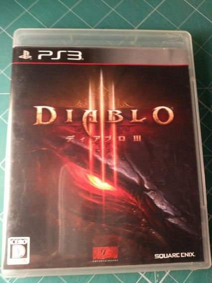 Diablo 3 Ps3 Mídia Física Jogo Em Inglês Pronta Entrega