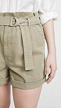 Pantalones Cortos Con Cinturon Safari Para Mujer Con Marco Mercado Libre