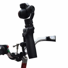 Suporte Guidão Mount Bike Gimbal Dji Osmo 4k Zoom Tripé Top