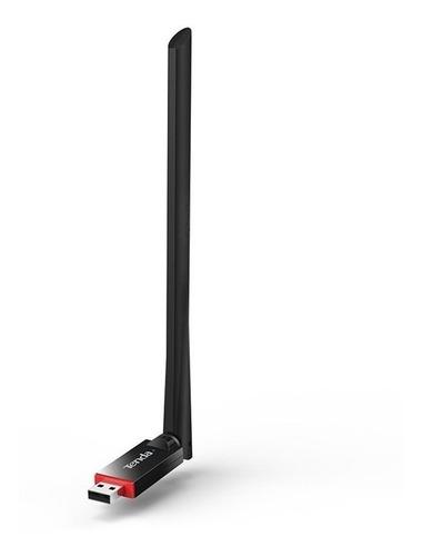 Adaptador Wifi Usb Inalambrico Tenda U6 300mbps High