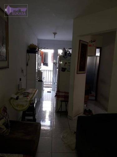 Cobertura Com 2 Dormitórios À Venda, 52 M² Por R$ 212.000,00 - Jardim Guarará - Santo André/sp - Co0323