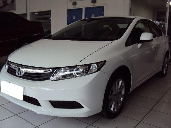 Honda New Civic Lxs 1.8 Branco 16v Flex 4p Manual 2014