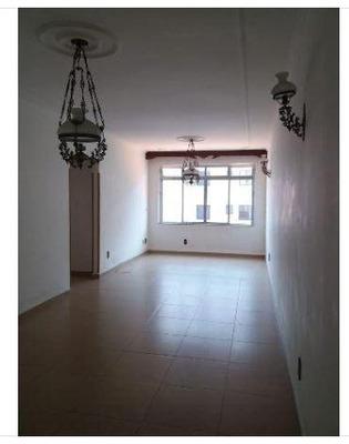 Apartamento Em Campo Grande, Santos/sp De 124m² 2 Quartos Para Locação R$ 2.300,00/mes - Ap221004