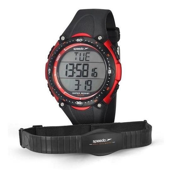 Relógio Speedo Masculino Ref: 80565g0epnp1 Monitor Cardíaco