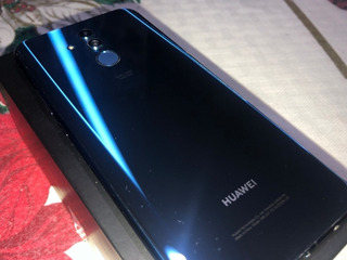 Celular Huawei Mate 20 Lite Azul Con Case Y Audífonos Jbl