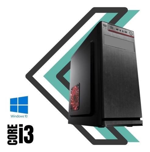 Cpu Core I3 4gb Ram Hd 500gb Win10 Com Programas Básicos