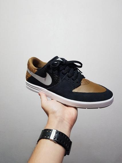 Nike Sb Paul Rodriguez 7 Grey-military Brown (ds)