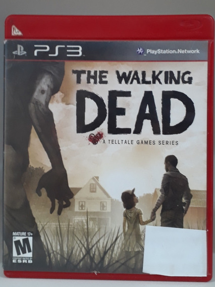 Jogo The Walking Dead Ps3 (usado)