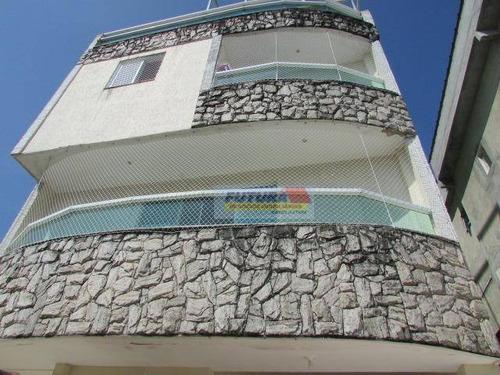 Imagem 1 de 30 de Sobrado Com 4 Dormitórios À Venda, 164 M² Por R$ 700.000,00 - Vila Valença - São Vicente/sp - So0304