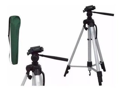 Kit 2 Tripé Telescópio Universal Câmera Celular 1,20mt+bolsa