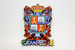 Iman Decorativo Escudo De Campeche