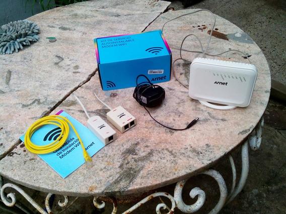 Kit Router Telecom Arnet Zyxel Funciona
