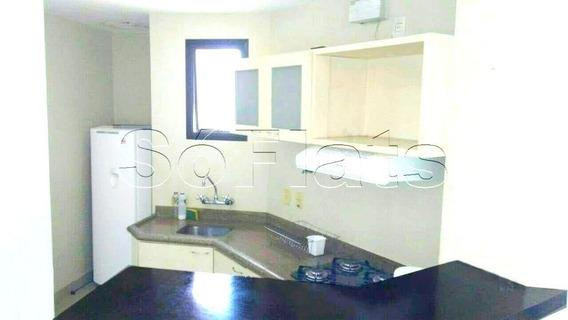 Flat No Morumbi 1 Dorm 72m² Duplex - Sf23681