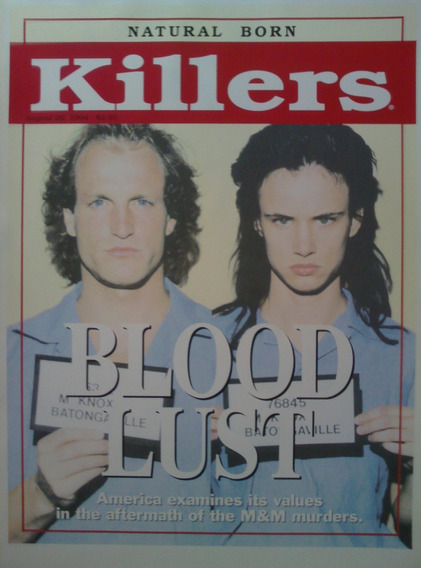 Poster Natural Born Killers Merchandising Oficial 1994 Usa