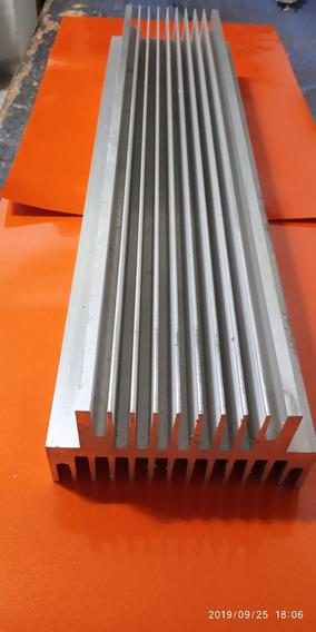 Dissipador Aluminio 50cm Montagem Amplificadores 3100w
