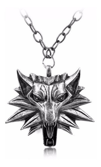 Collar Con Dije The Witcher 3 Medallon