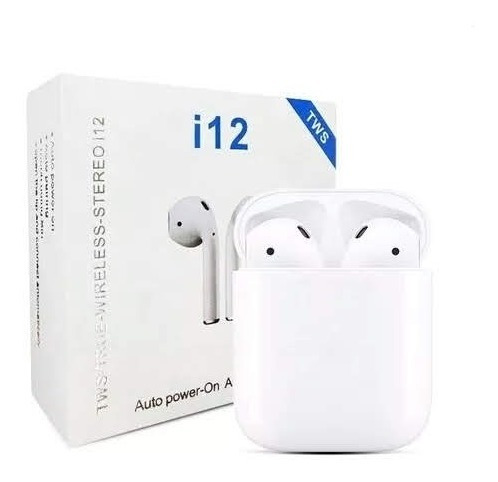 Audífonos Inalámbricos AirPods I12 Touch (15usd)