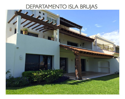 Imagen 1 de 8 de Departamento Isla Brujas Zona Hotelera, Cancun