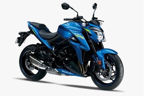 Suzuki Gsx-s 1000  | 2021/2021 0 Km Preta Com Azul | W