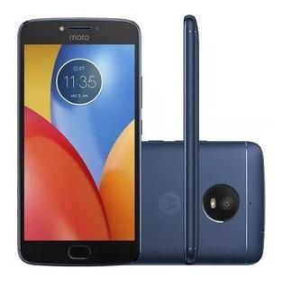 Smartphone Celular Moto E4 Plus Dual 16gb 13mp Azul Original