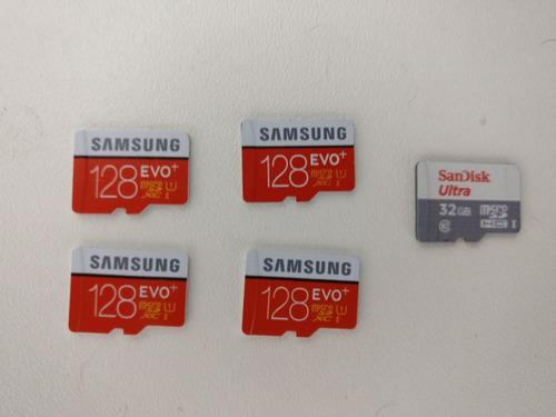 Cartões De Memória Microsd Samsung Evo+ 128gb Novo! Original