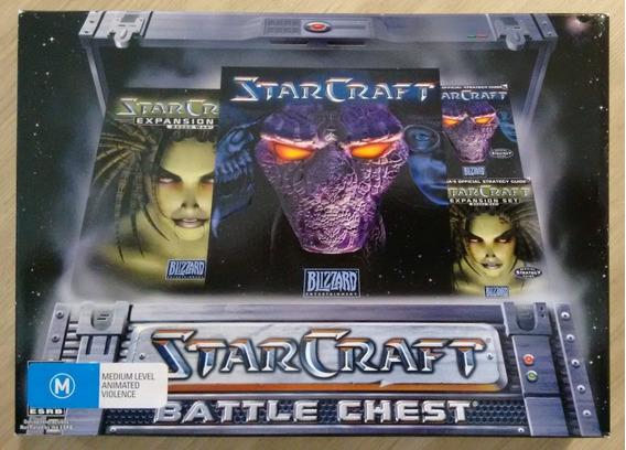 Starcraft Battle Chest Da Blizzard ( Lacrado )