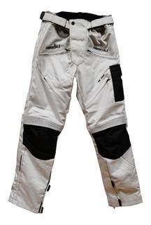 Pantalón Con Protecciones Para Moto Immortale Road Gris