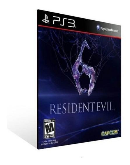 Resident Evil 6 Ps3 Português Jogo Psn Comprar