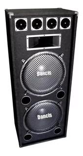 Bafle Tipo Columna 2x15 Potenciado Con Módulo Amplificador