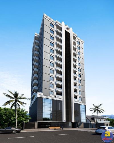 Imagem 1 de 7 de Apartamento 2 Suítes, 1 Vaga De Garagem No Perequê Em Porto Belo/sc - Imobiliária África - Ap00380 - 69680557