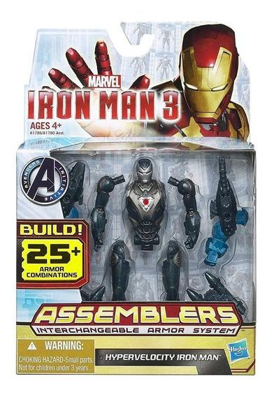 Iron Man 3 Figura Muñeco Intercambiable Original Hasbro