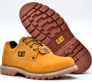 Bota Sapato Caterpillar Segurança Couro Masculino E Feminino