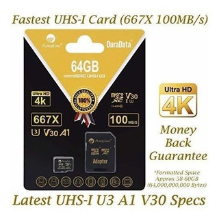 64gb Micro Sd Sdxc V30 A1 Memory Card Plus Adapter Pack (cla